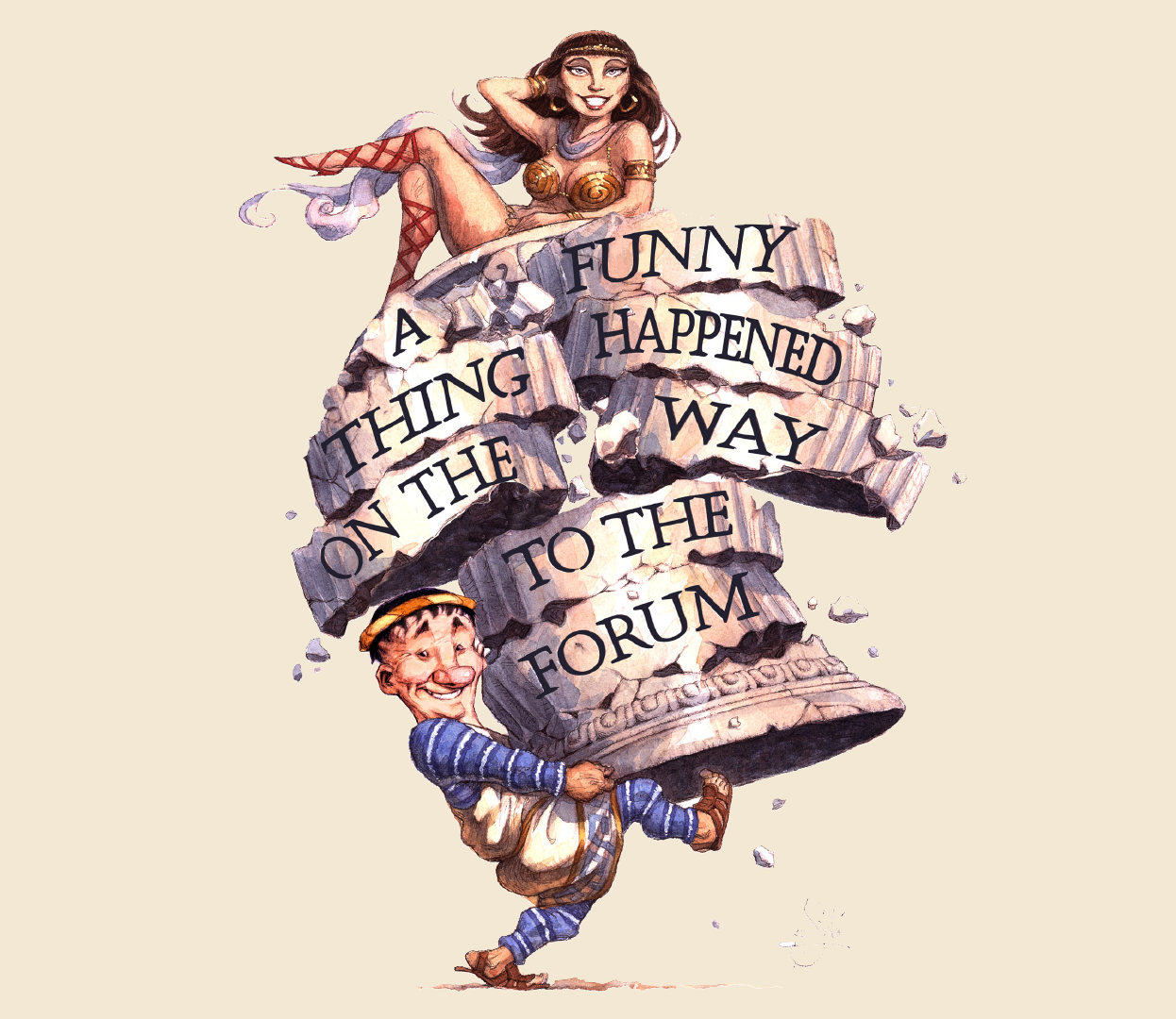 A Funny Thing Happened On The Way To The Forum - Bay City Players